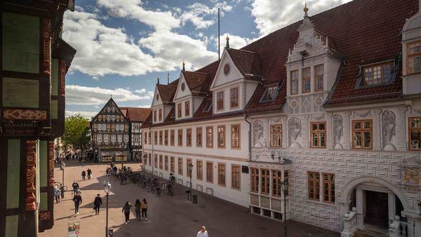 Teile der Celler Altstadt sind Fußgängern und Radfahrern vorbehalten. (Foto: Renee Söhner)