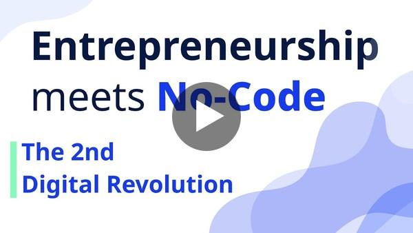 Entrepreneurship meets No-Code Recording