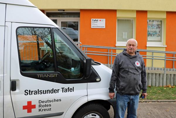 OZ-Weihnachtsaktion: Stralsunder Tafel braucht dringend einen Kühltransporter