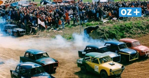 Stock-Car in Grimmen: Mit einem Trabi-Schlammrennen fing alles an