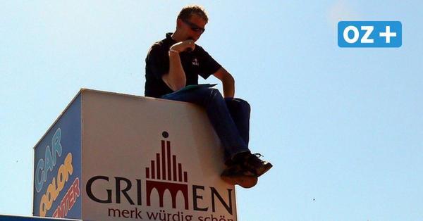 Grimmener Stock-Car-Rennen: Seine Moderationen sind legendär
