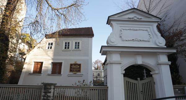 Das Schillerhaus. Foto: André Kempner