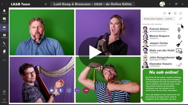 KAAG EN BRAASSEM - Aankondiging digitale oudejaarsconference Luid Kaag & Braassem (video)