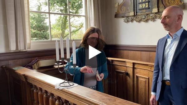 OUDE WETERING - Adventsvlog  met Jan Berkvens, waar hij op onderzoek gaat wat Advent betekent (video)
