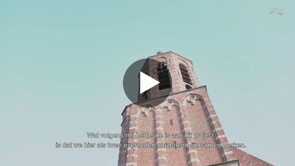 RIJNSATERWOUDE - Voortgang reconstructie Herenweg (video)
