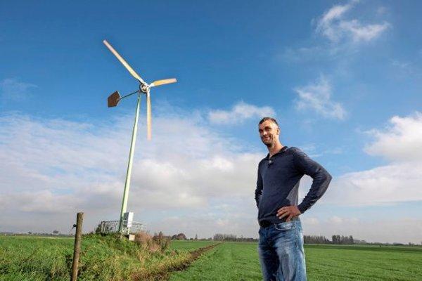 Kleine windmolen interessant, maar gemeentes dubben