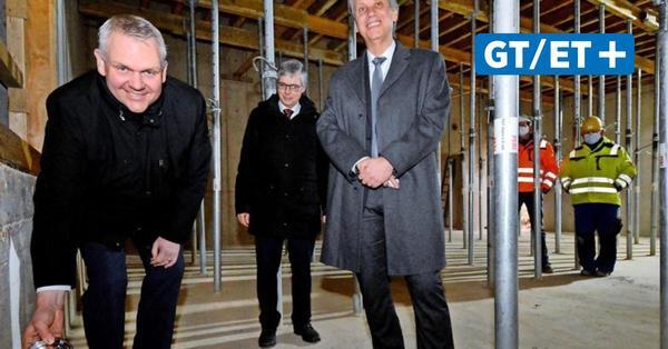 Minister Thümler legt Grundstein für Forschungsgebäude der HAWK in Göttingen
