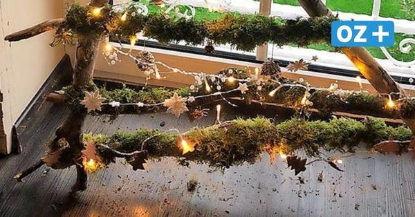 So wird aus Usedomer Strandgut schöne Weihnachtsdeko