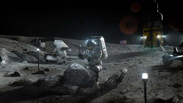 A dollar can't buy you a cup of coffee but that's what NASA intends to pay for some moon rocks