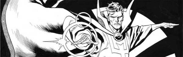 Kevin Nowlan - Dr. Strange Original Comic Art