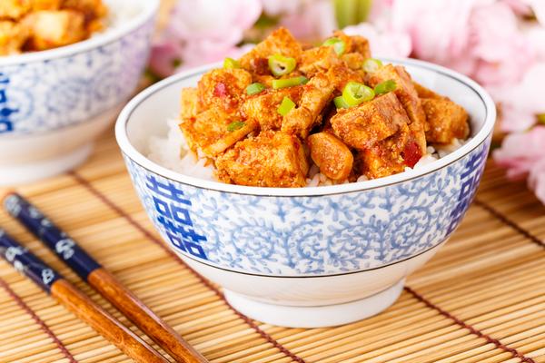 Hot tofu!