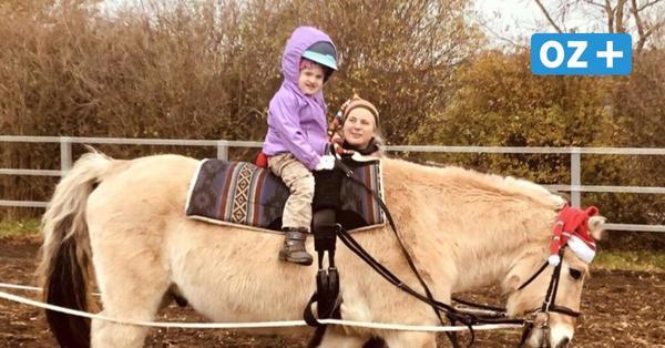 Auf dem Rücken der Pferde: Der schönste Moment der Woche für die kleine Kiara