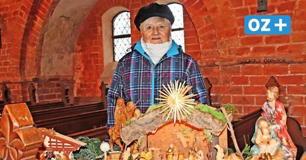So schöne Krippen haben die Neuklosteraner in ihrer Kirche ausgestellt