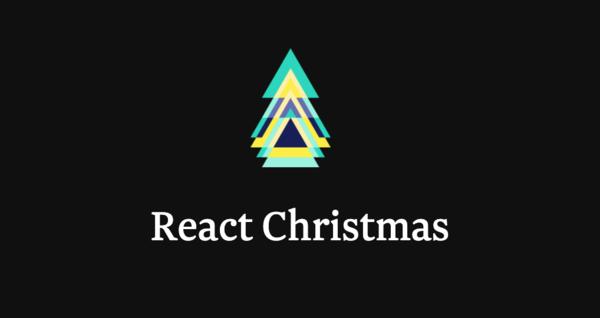 React Christmas