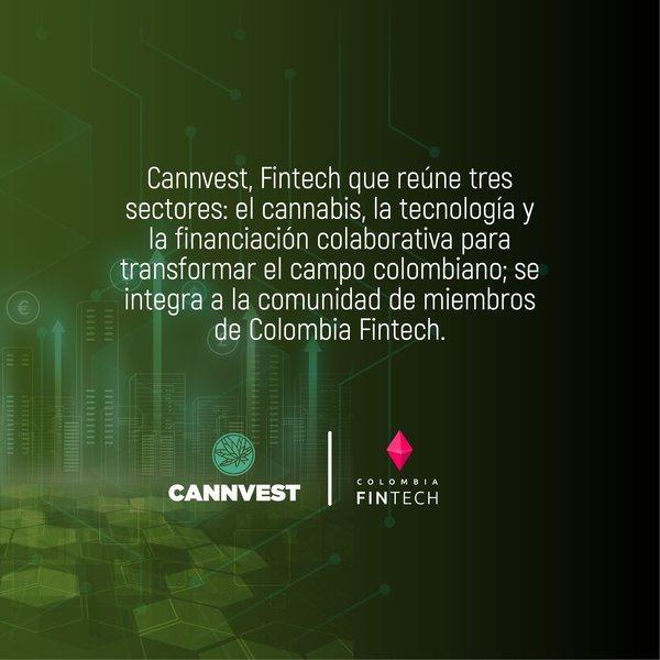 ¡Damos la bienvenida a @cannvest! 🔥 Un suceso que abrirá puertas en el sector tecnológico y financiero para el cannabis 💥