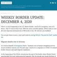Weekly border update: December 4, 2020