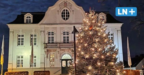 Reinfelder Weihnachtsbaum mit Polizei eskortiert