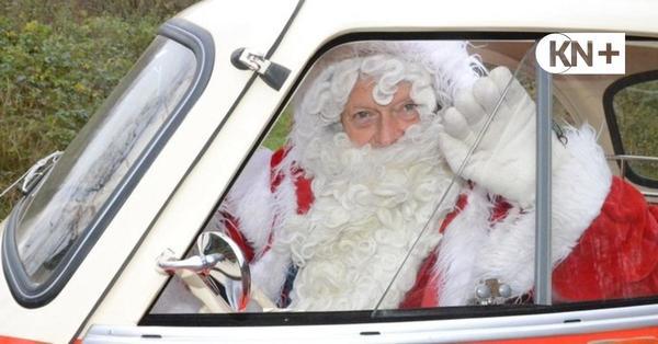Isetta: Nikolaus rollt mit Knutschkugel an
