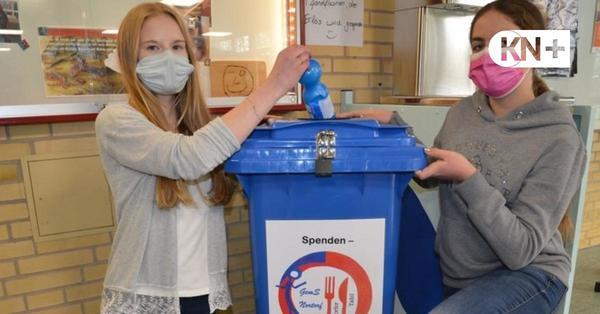 Schülerinnen starten eigene Tafel-Spendenaktion
