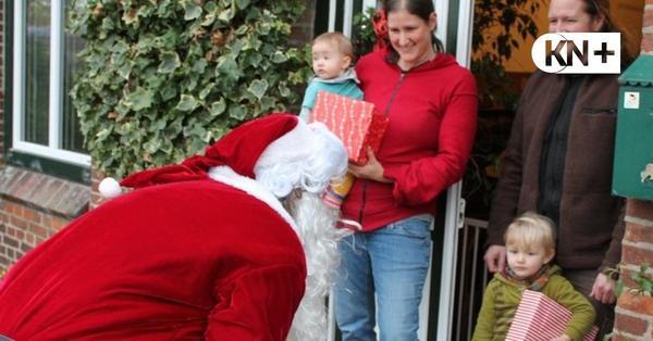 Wenn plötzlich Nikolaus in Dörfern im Kreis Segeberg an der Tür steht
