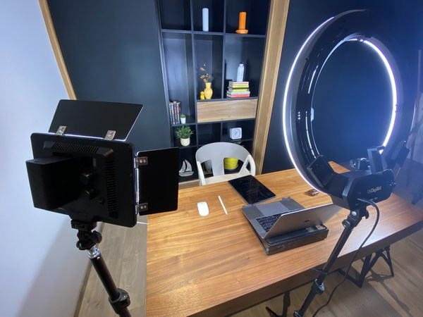 This is how I hosted the conference from my home! Share your setups with us! If you observe closely you will find the bottle we gave away in UXI19 kits!