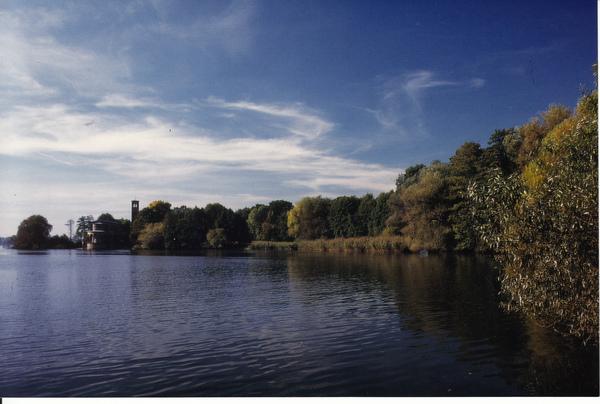 Der Sacrower See. Foto: Wolfgang Ewert