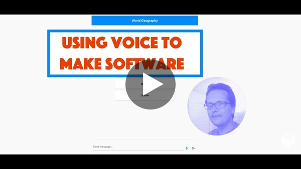 Using Voice to Make Software