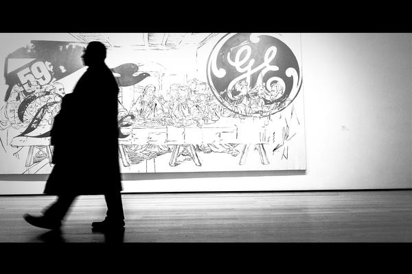 Warhol's Last Supper, Museum of Modern Art, New York City, 2018