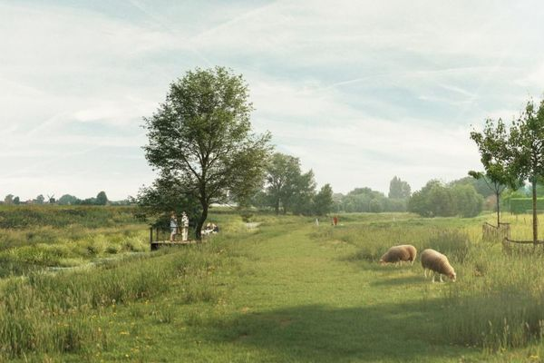 Découvrir la nature, se promener et jouer le long de la Heulebeek - Natuurbeleving, wandelen en spelen langs Heulebeek