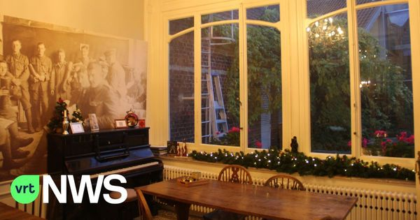 La Talbot House à Poperinge est à nouveau ouverte et baigne dans une atmosphère de Noël nostalgique britannique - Talbot House in Poperinge is weer open en baadt in Britse nostalgische kerstsfeer