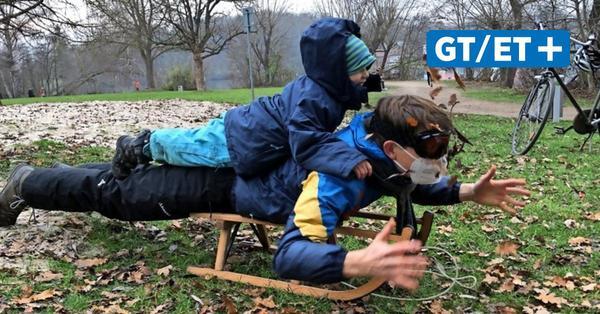 Eishockey und Rodeln:  Das machen Wintersportler am Kiessee in Göttingen