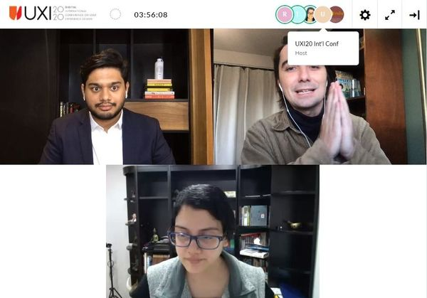Live Q&A with Priyanka and Trace from Facebook Design. SS Credits: Swati