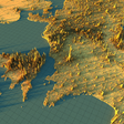 Population density in Europe