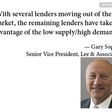 Capital markets slowdown