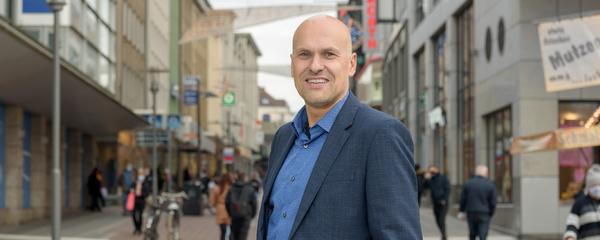 Kristian Blasel, Leiter der Lokalredaktion