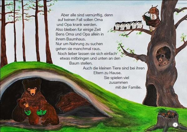 """Blick ins Buch """"Aufregung im Wunderwald"""""""
