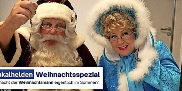Weihnachts-Podcast der OZ: Erste Folge mit Rostocker Weihnachtsmann und Märchentante