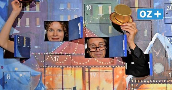 Adventsleuchten des Rostocker Volkstheaters im Video: Die Gänsehirtin am Brunnen (Teil 4)