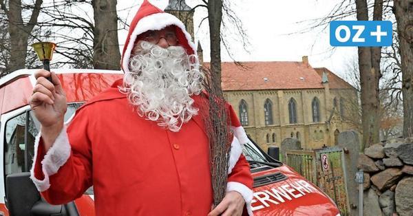 Pfiffige Idee in Selmsdorf: Wie der Weihnachtsmann mit der Feuerwehr kommt
