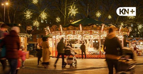 Weihnachtsmarkt light in Kiel ist alles andere als ein Besuchermagnet