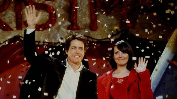 Tatsächlich Liebe mit Hugh Grant und Martine McCutheon. Foto: picture-alliance