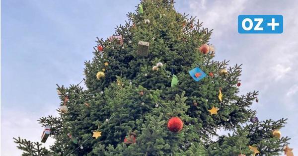 Inspirationen zum Nachbasteln am Greifswalder Weihnachtsbaum