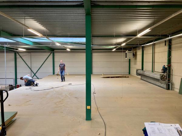 Gertjan Pol: 'We hebben de vloer zelf geplaatst met een klusteam van GVO'