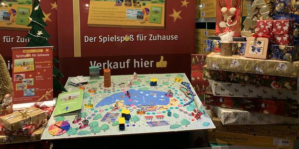 Großes Spielfeld, 3-D-Objekete und liebevolle Details runden das Spiel ab. Foto: Tretmobile-Vermietung