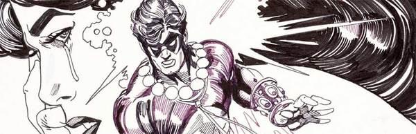 Gil Kane - The Atom Original Comic Art