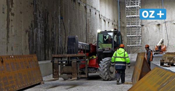 Spezialbohrer wird gefertigt: Tunnelbau in Swinemünde im Zeitplan