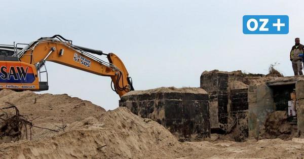 Bunker an Steilküste von Sellin wird abgerissen: Ein letzter Blick hinein