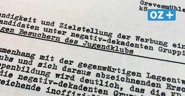 Grevesmühlen: Die Grufti-Szene Im Visier der Stasi und der Vopos