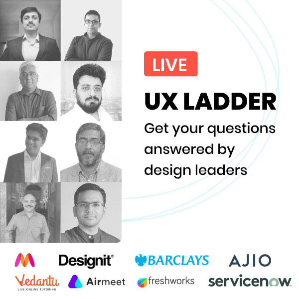 UX Ladder by Design Leaders! Click to view their profiles.