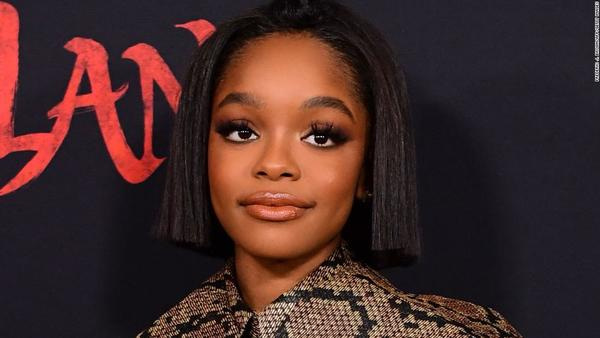 'Black-ish' star Marsai Martin, who's 16, has set a record for the youngest Hollywood executive producer